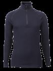 Flame retardant Wool Froté Zip Polo 3/4 neck