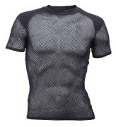 Flame retardant Wool Thermo T-shirt w/inlay