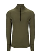 Arctic Tactical Zip Polo 3/4 neck w/thumbfingergrip