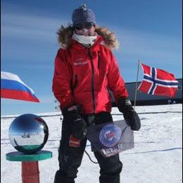 2010: World's fastest solo crossing to the South Pole by Christian Eide