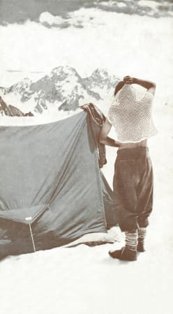 1953: To the top of Mt. Everest with Hillary and Tenzing -   international recognition of the thermal string vest