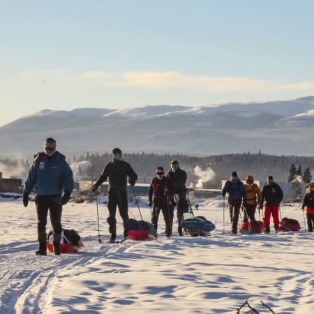 2018: Frode Lein runs the Yukon Arctic Ultra - the world's coldest ultra race
