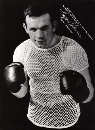 1959: Ingemar Johansson is sponsored by Brynje