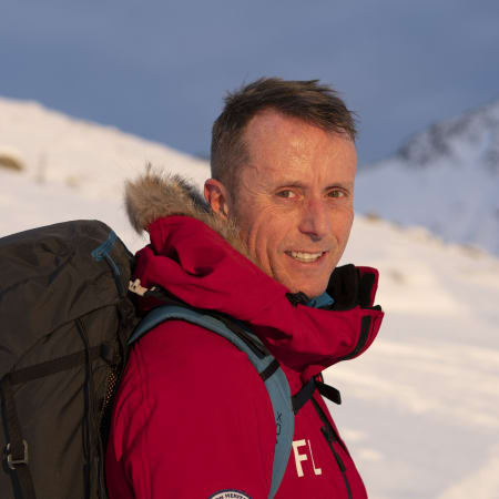 2016: Frode Lein runs to the South Pole