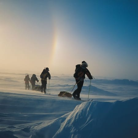 1998: North Pole Expedition with Sjur Mørdre and Lars Ebbesen
