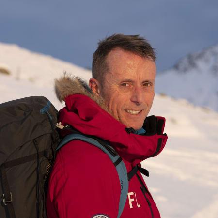 """2016: Frode Lein fullførte """"The Last Desert"""" i Antarktis"""