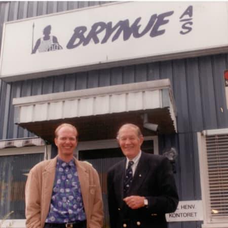 1993: Brynje rev sin gamle fabrikk og flyttet til Øya i Larvik