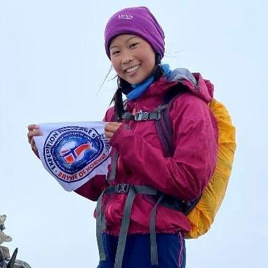 2020: Linn Therese Helgesen (15) ble Norges yngste som har besteget 377 fjell i Norge over 2000 meter