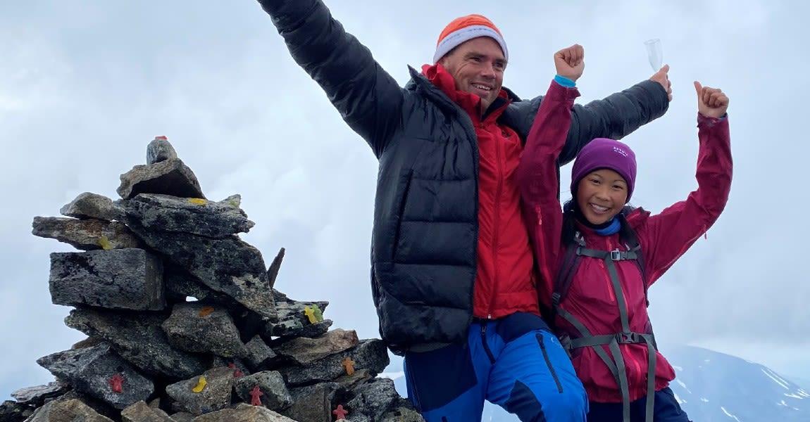 Linn Therese Helgesen (15) er Norges yngste som har besteget 337 fjell i Norge over 2000 meter
