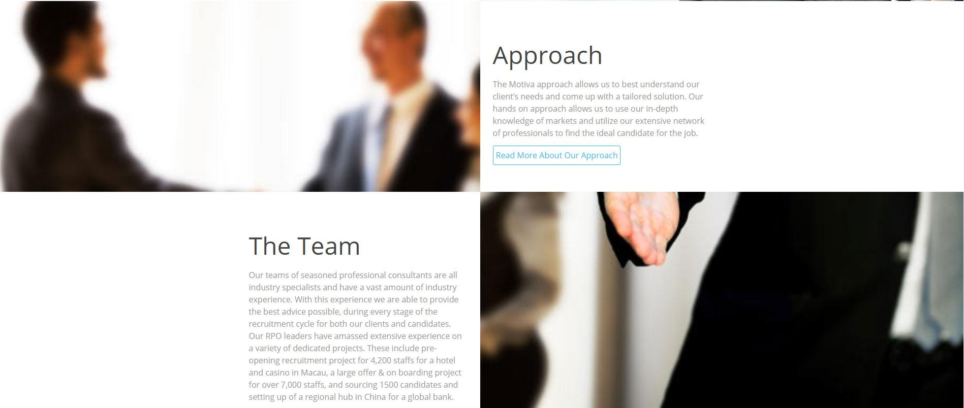Consulting Website Design 8