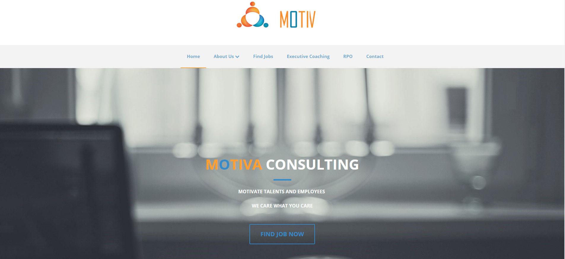 Consulting Website Design 3