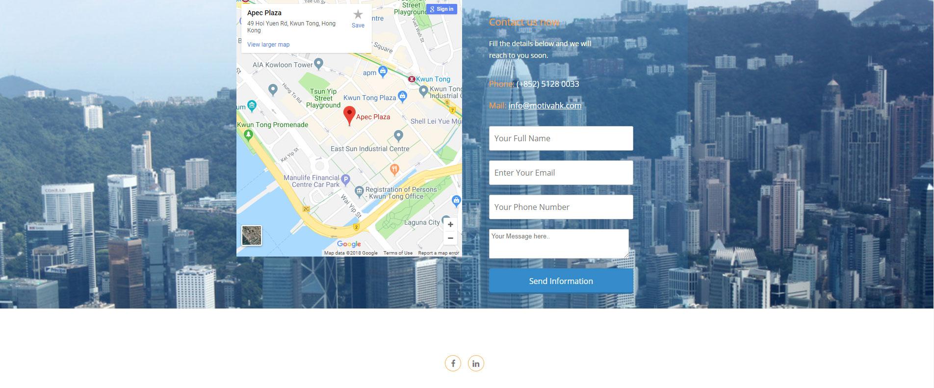 Consulting Website Design 6