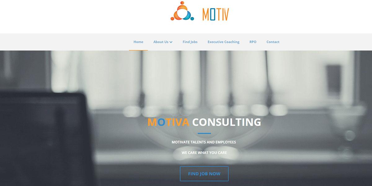 Consulting Website Design 5