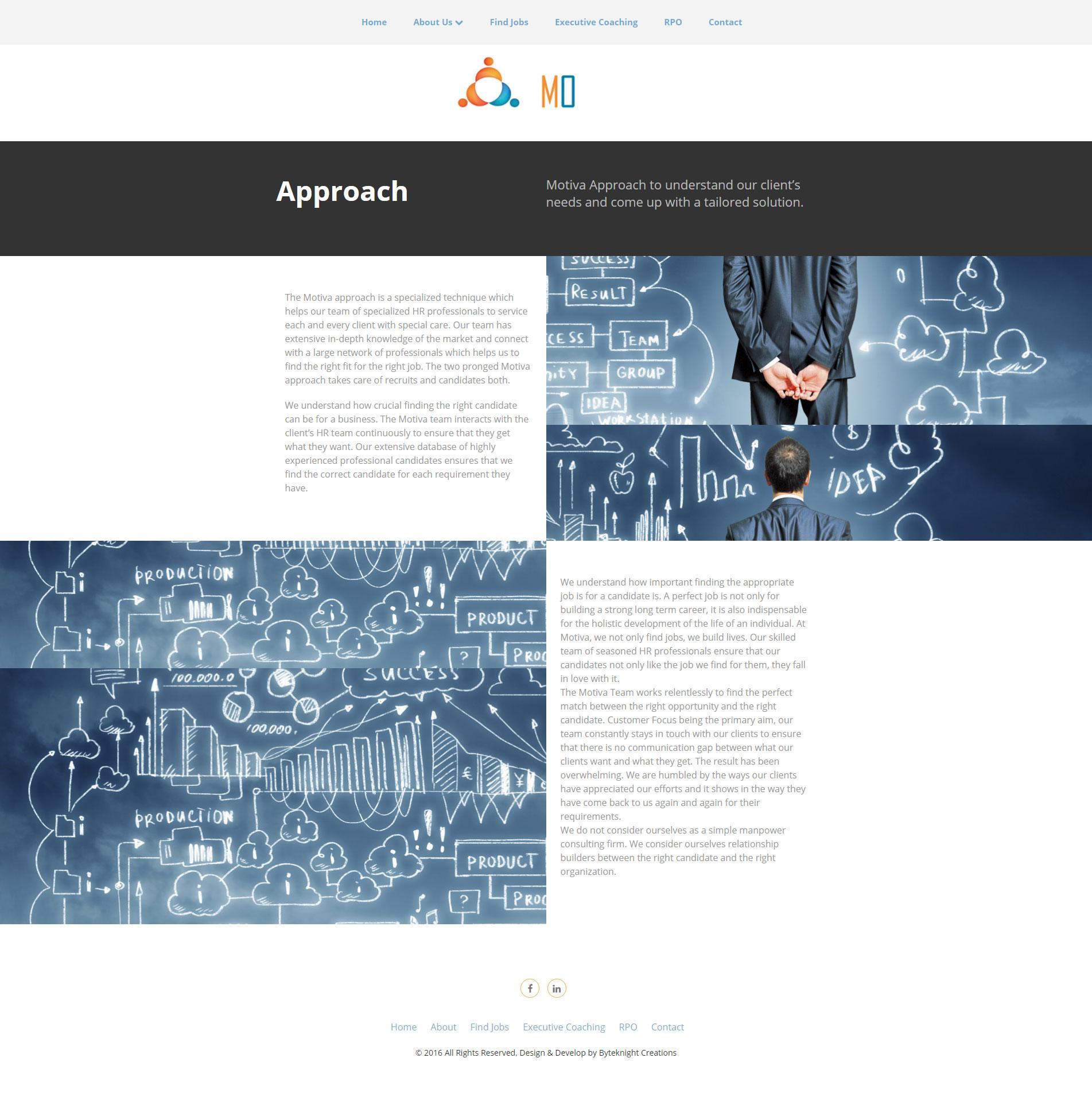 Consulting Website Design 1