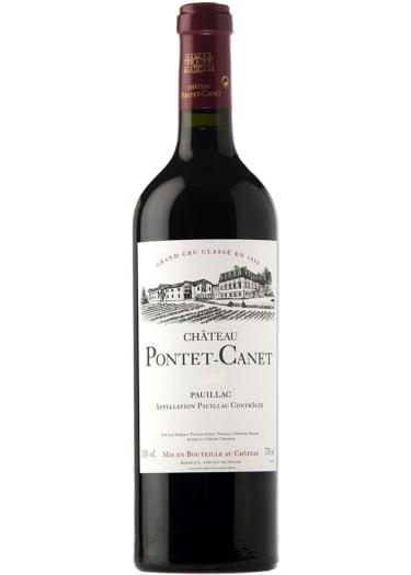 Pauillac Grand cru classé Château Pontet-Canet 2002 – 750mL