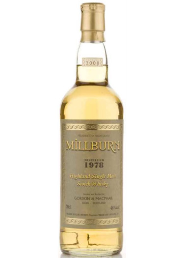 Single Malt Scotch Whisky Milburn  Gordon & Mac Phail 1978 – 700mL