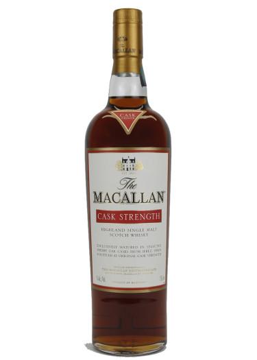 Cask Strength Highland Single Malt Scotch Whisky The Macallan – 750mL
