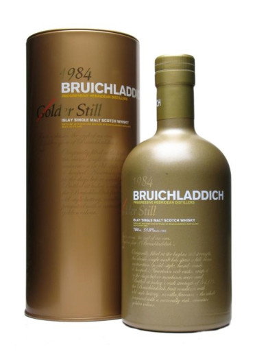 Single Malt Scotch Whisky Golder Still  Bruichladdich 1984 – 700mL