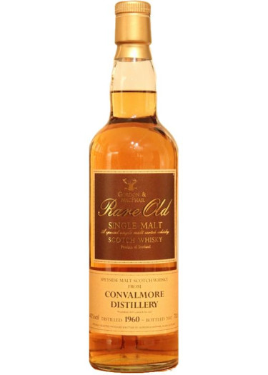 Single Malt Scotch Whisky Gordon & Mac Phail Rare Old Convalmore 1960 – 700mL