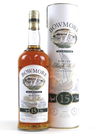 Single Malt Scotch Whisky Mariner 15 years Bowmore Morrison Bowmore Distillers – 700mL