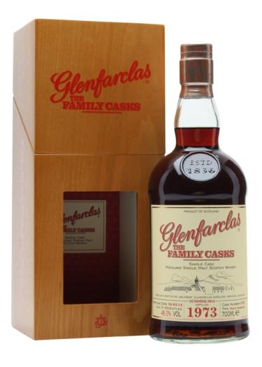 Single Malt scotch Whisky Cask Bottling  Glenfarclas 1973 – 700mL