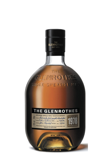 Single Malt Scotch Whisky Restricted Released  Glenrothers 1978 – 700mL