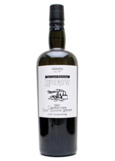Campbeltown Single Malt Scotch Whisky Longrow 1987 – 700mL