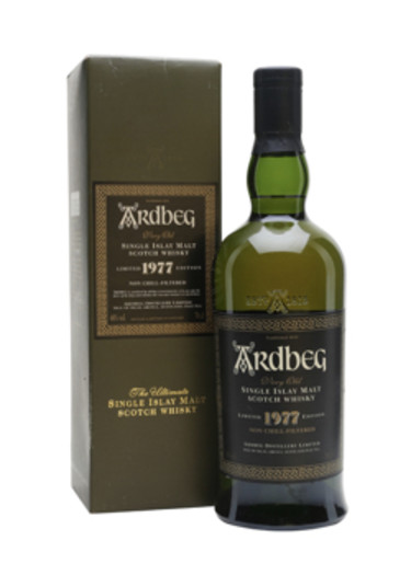 Single Malt Scotch Whisky Very Old Ardbeg 1977 – 700mL