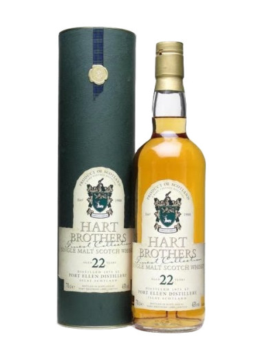 Single Malt Scotch Whisky Hart Brothers Finest Collection 22 years  Port Ellen – 700mL