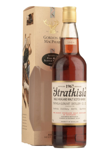Finest Highland Single Malt Scotch Whisky  »Strathisla » Gordon & Mac Phail 1967 – 700mL