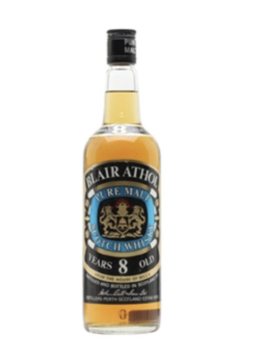 Pure Malt Scotch Whisky Special Light 8 years Blair Athol – 750mL