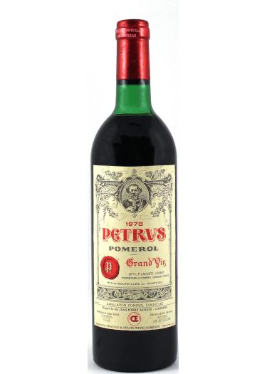 Pomerol Pétrus 1978 – 750mL