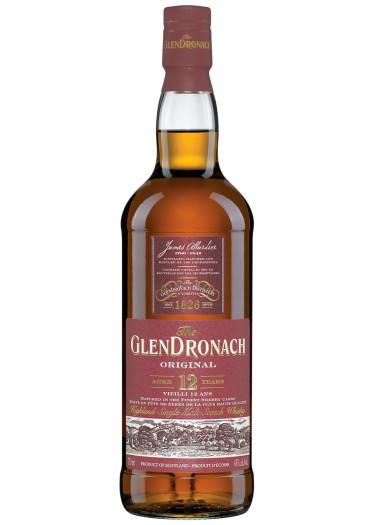 Single Malt Scotch Whisky Original 12 years  Glendronach – 1L
