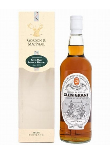 Single Malt Scotch Whisky 25 years Glen Grant – 700mL