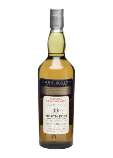 Single Malt Scotch Whisky Natural Cask Strength Rare Malts Selection 23 years   North Port 1971 – 750mL