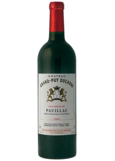 Pauillac Grand cru classé Château Grand-Puy Ducasse 2008 – 750mL