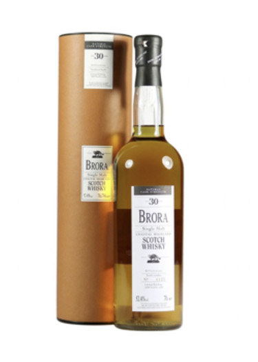 Costal Highland Single Malt Scotch Whisky 30 years Brora 2002 – 700mL