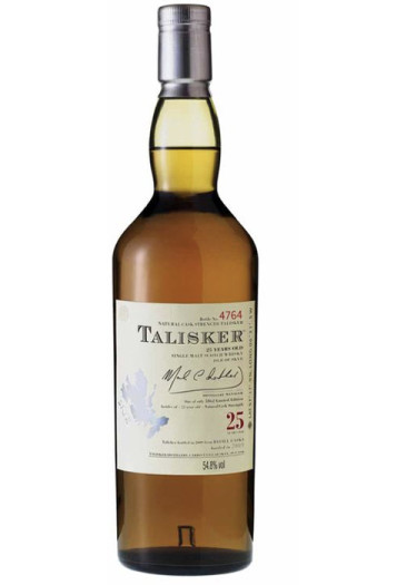 Single Malt Scotch Whisky Isle of Skye 25 years Talisker 1976 – 700mL