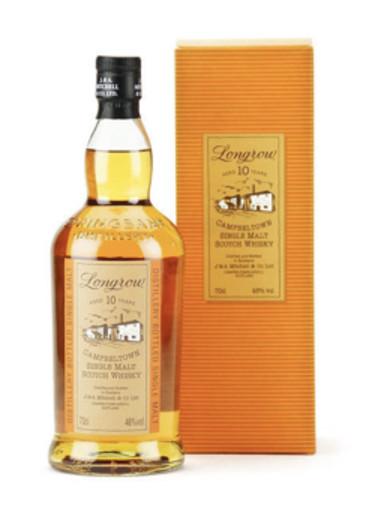 Campbeltown Single Malt Scotch Whisky 10 years Longrow 1992 – 700mL