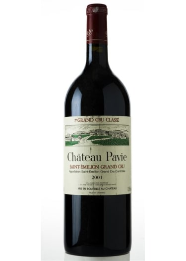 Saint-Emilion Grand Cru 1er grand cru classé « A » Château Pavie 2001 – 750mL