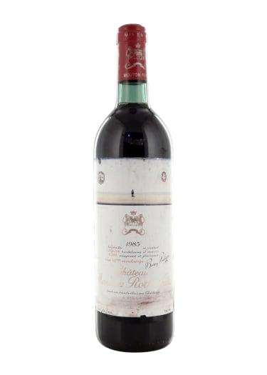 Pauillac 1er grand cru classé Château Mouton Rothschild 1983 – 750mL