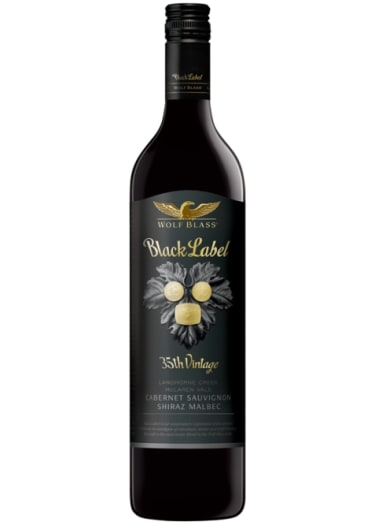 Cabernet-Sauvignon/Shiraz/Malbec South Australia Black Label Wolf Blass 1998 – 750mL