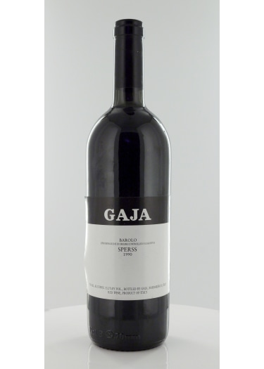 Barolo Sperss Gaja 1989 – 750mL