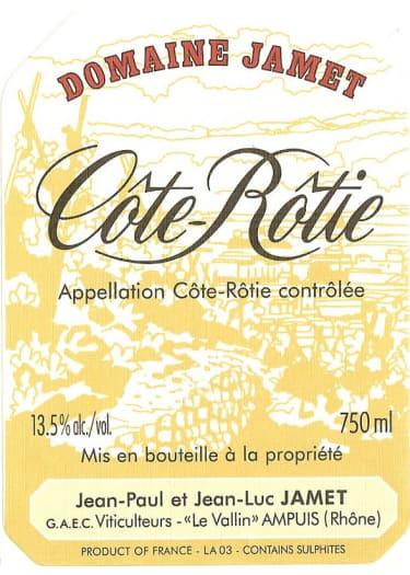 Côte-Rôtie Domaine Jamet 1999 – 750 mL