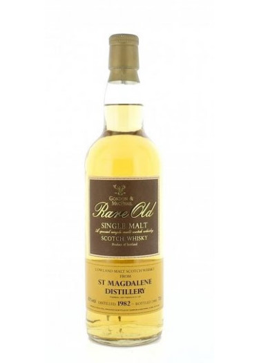 Lowland Single Malt Scotch Whisky Rare Old St. Magdalene Gordon & Mac Phail 1982 – 700mL