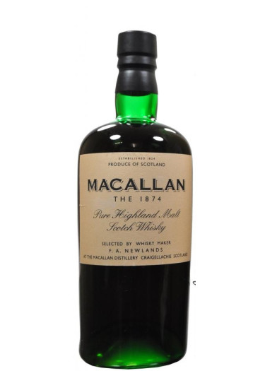 Pure Highland Malt Scotch Whisky The 1874 The Macallan – 700mL