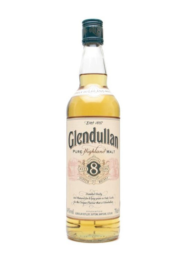 Highland Single Malt Scotch Whisky 8 years Glendullan – 700mL
