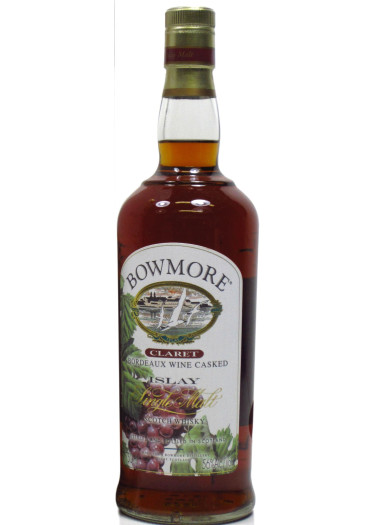 Single Malt Scotch Whisky Claret Bordeaux Wine Caske Bowmore – 700mL