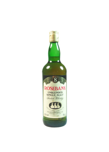 Single Malt Scotch Whisky Unblended 8 years Rosebank – 750mL