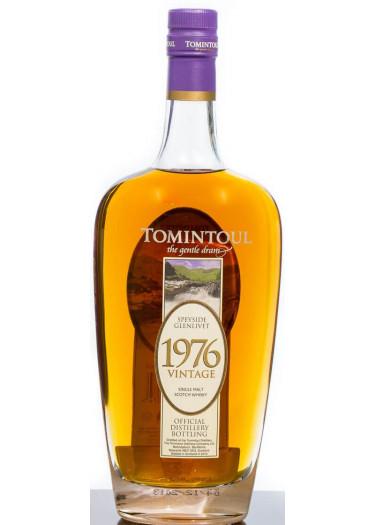 Speyside Glenlivet Single Malt Scotch Whisky Vintage  Tomintoul 1976 – 700mL